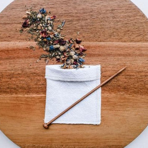Reusable Organic Fabric Tea Bags
