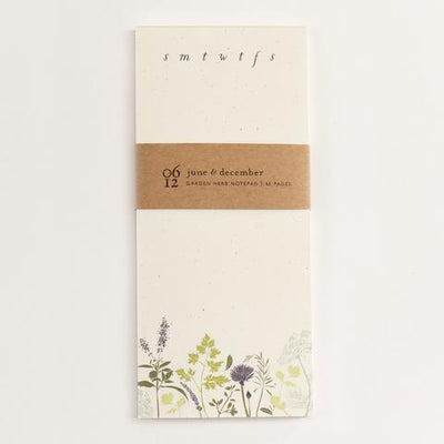 Garden Herb Daily To-Do Notepad