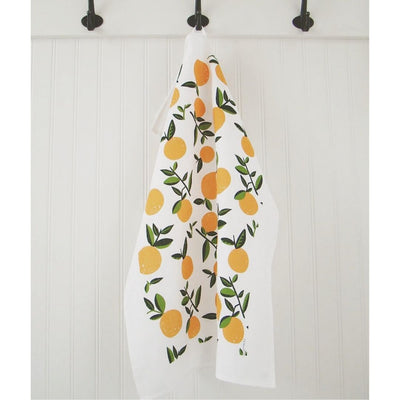 Tea Towel Citrus Orange