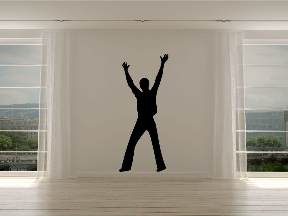 Dancer Silhouette - Reach For The Stars Life Size - Cutting Image
