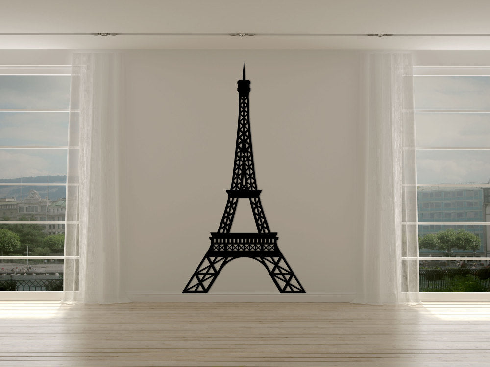 Eiffel Tower Silhouette - Cutting Image
