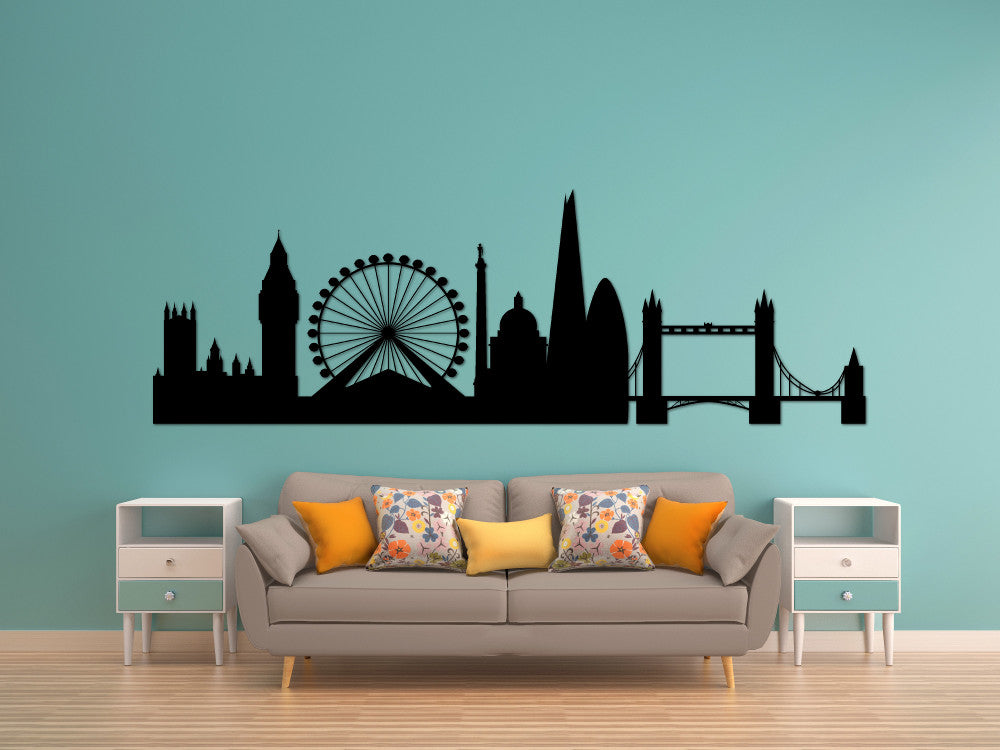 London Skyline Silhouette - Cutting Image