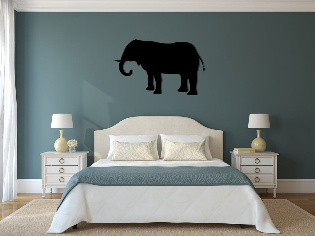 Elephant Silhouette - Cutting Image