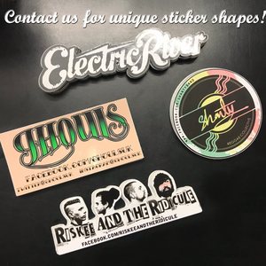 Personalised Eco Stickers - Cutting Image
