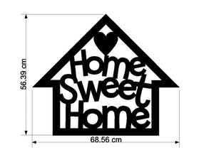 Home Sweet Home Large Vinyl Wall Decal - Cutting Image