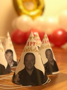 Personalised Party Hats - Cutting Image