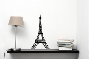 Eiffel Tower Vinyl Wall Decal - Cutting Image