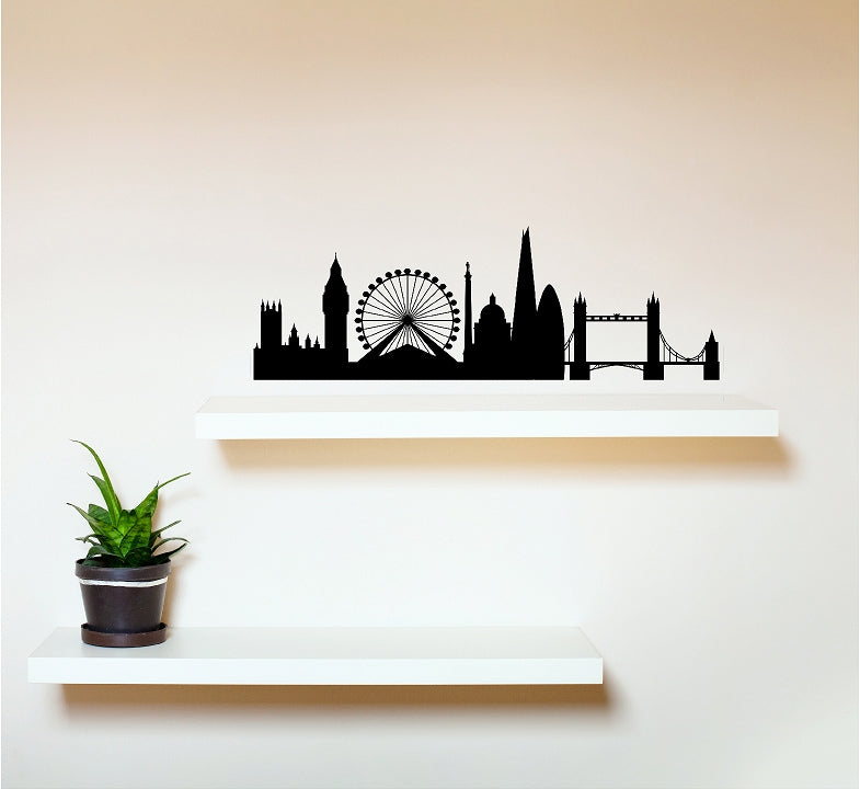 London Skyline - Vinyl Wall Decal - Cutting Image