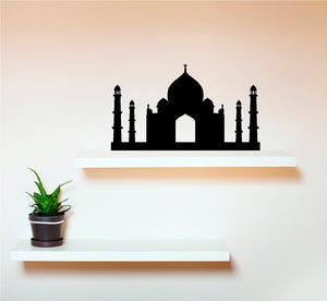 Taj Mahal - Vinyl Wall Decal - Cutting Image