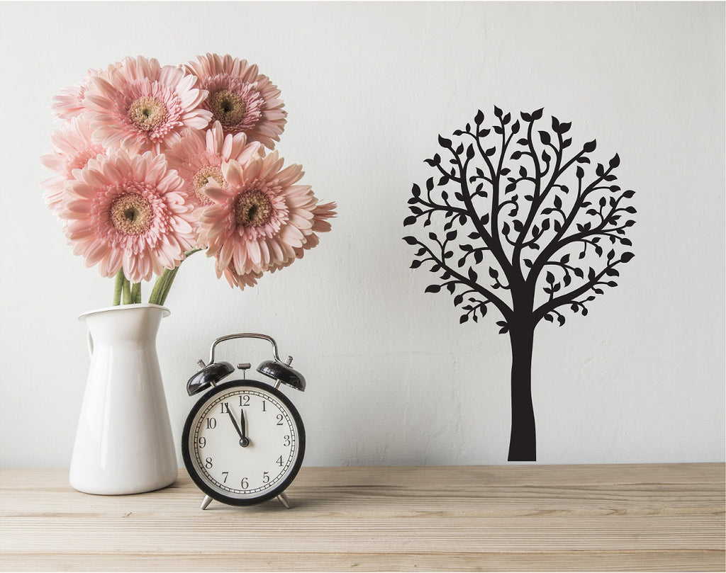 Spring Tree - Vinyl Wall Decal - Cutting Image