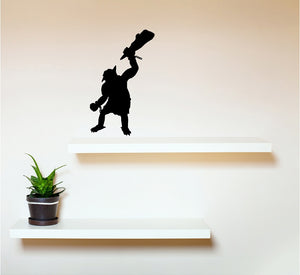 Troll - Vinyl Wall Decal - Cutting Image
