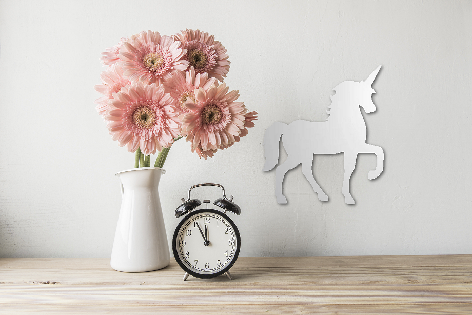 Unicorn Premium Acrylic Mirror - Cutting Image