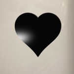 Heart Chalkboard Fridge Magnet - Cutting Image