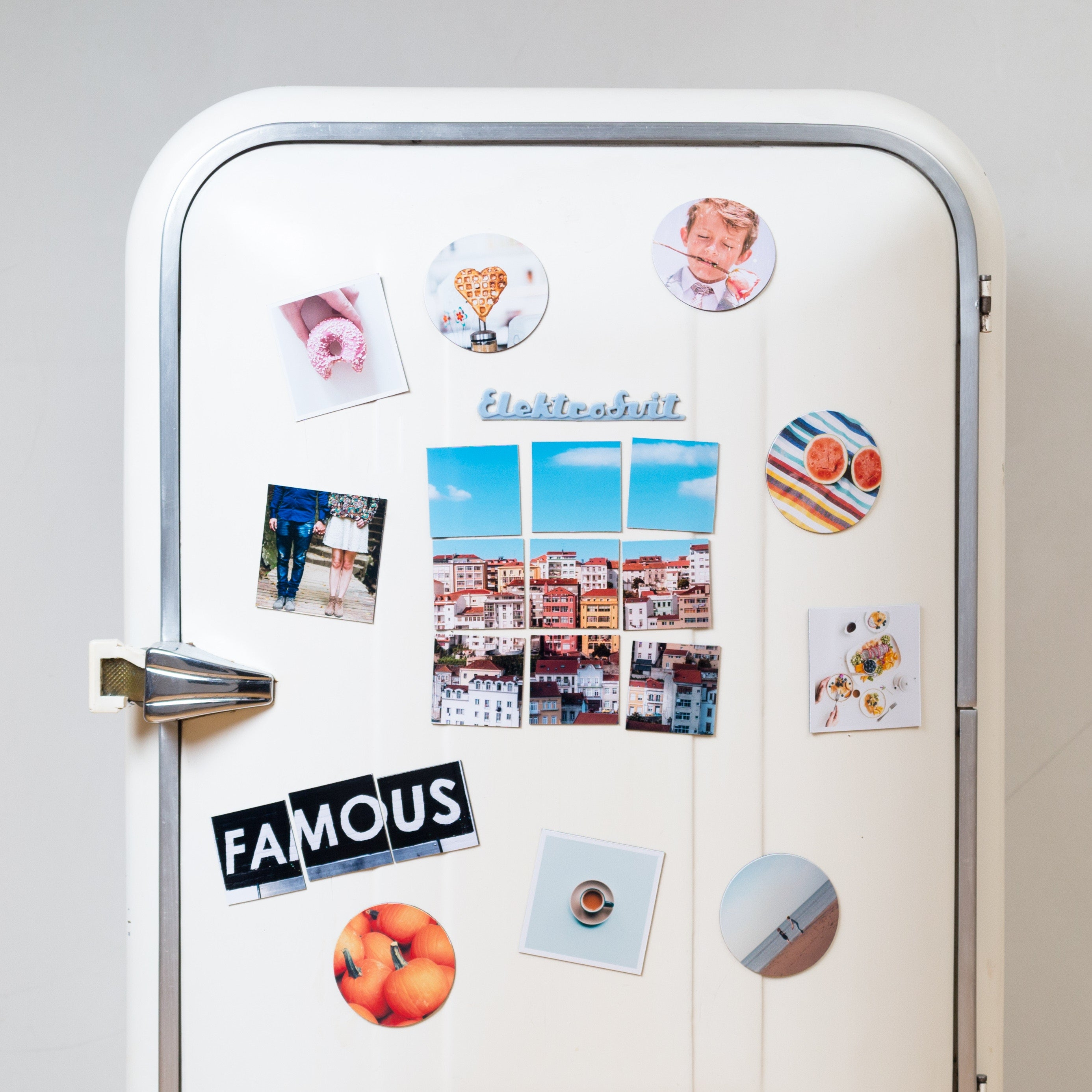 Personalised Magnet Printing - Cutting Image