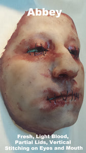 Abbey - Silicone Skinned Horror Face Mask