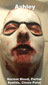 Ashley - Silicone Skinned Horror Face Mask