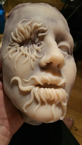 Infested Krystal - Silicone Skinned Horror Face Mask