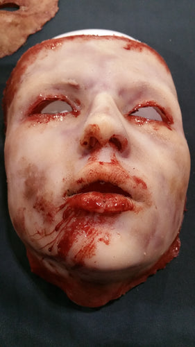 Rowan - Silicone Skinned Horror Face Mask