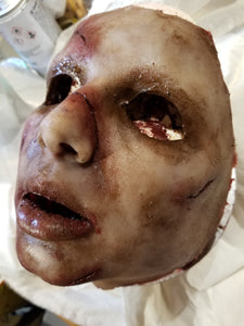 "Ready to Ship - Coryn ""Exorcist Inspired"" Silicone Face Mask"