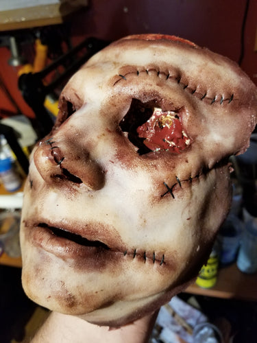 Ready to Ship - DeHumanVIII Leatherface Style Silicone Mask