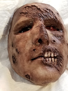 Zombie Brian - Silicone Face Mask
