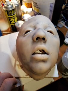 Ready to Ship - Courtney - No Blood Silicone Mask