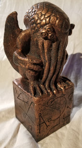 Ready to Ship - Copper Cthulhu Figurine