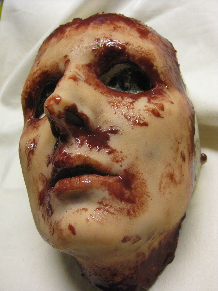 Rachelle - Silicone Skinned Horror Face Mask