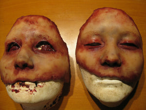 Alysa Half Mask - Silicone Skinned Horror Face Mask