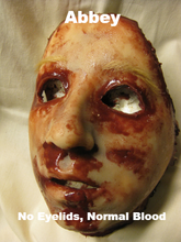 Load image into Gallery viewer, Abbey - Silicone Skinned Horror Face Mask