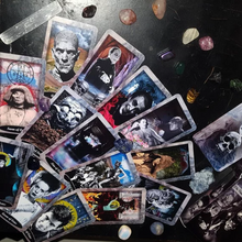 Load image into Gallery viewer, Vintage Horror Tarot Deck