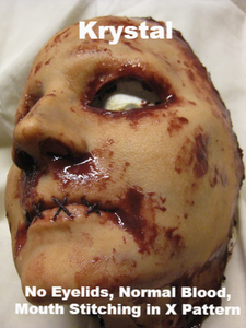Krystal - Silicone Skinned Horror Face Mask
