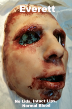 Load image into Gallery viewer, Everett - Silicone Skinned Horror Face Mask