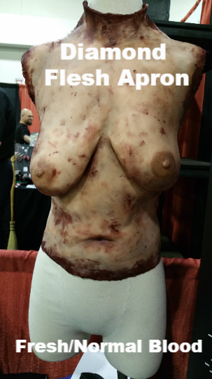 Diamond - Silicone Flesh Apron