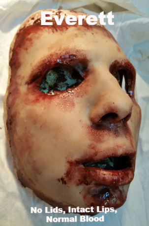 Everett - Silicone Skinned Horror Face Mask