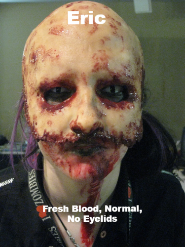 Eric - Silicone Skinned Horror Face Mask