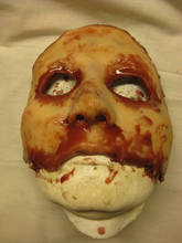 Load image into Gallery viewer, Alysa Half Mask - Silicone Skinned Horror Face Mask