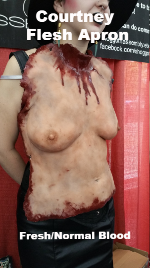 Courtney - Silicone Flesh Apron