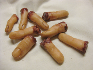 Fingers - Severed Finger Silicone Prop