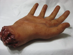Clara - Severed Silicone Hand Prop