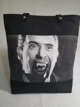 Load image into Gallery viewer, Dracula Vintage Horror Tote Bag