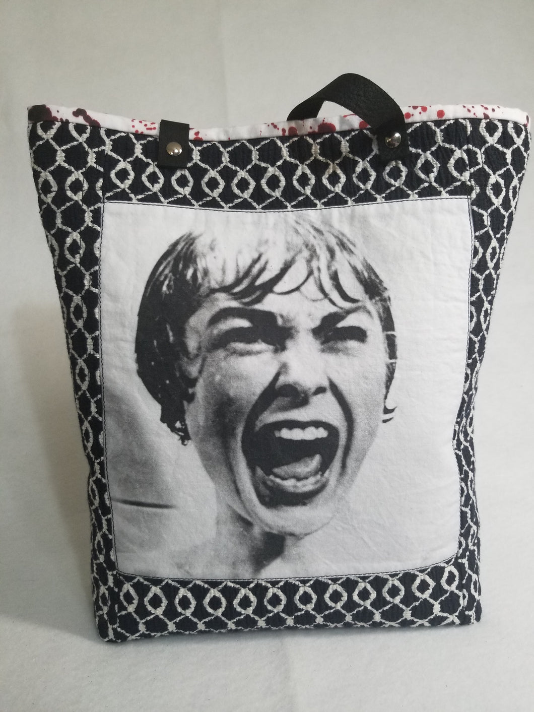 Psycho Vintage Horror Tote Bag