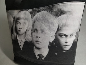 Village of the Damned Vintage Horror Tote Bag
