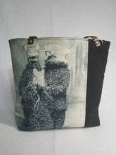 "Load image into Gallery viewer, ""Bear Suit"" Vintage Halloween Tote Bag"