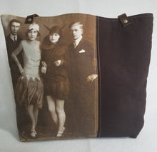 "Load image into Gallery viewer, ""Halloween Costume"" Vintage Halloween Tote Bag"