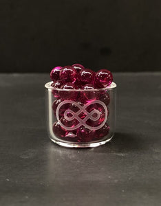 Ruby Banger Bead (6mm)