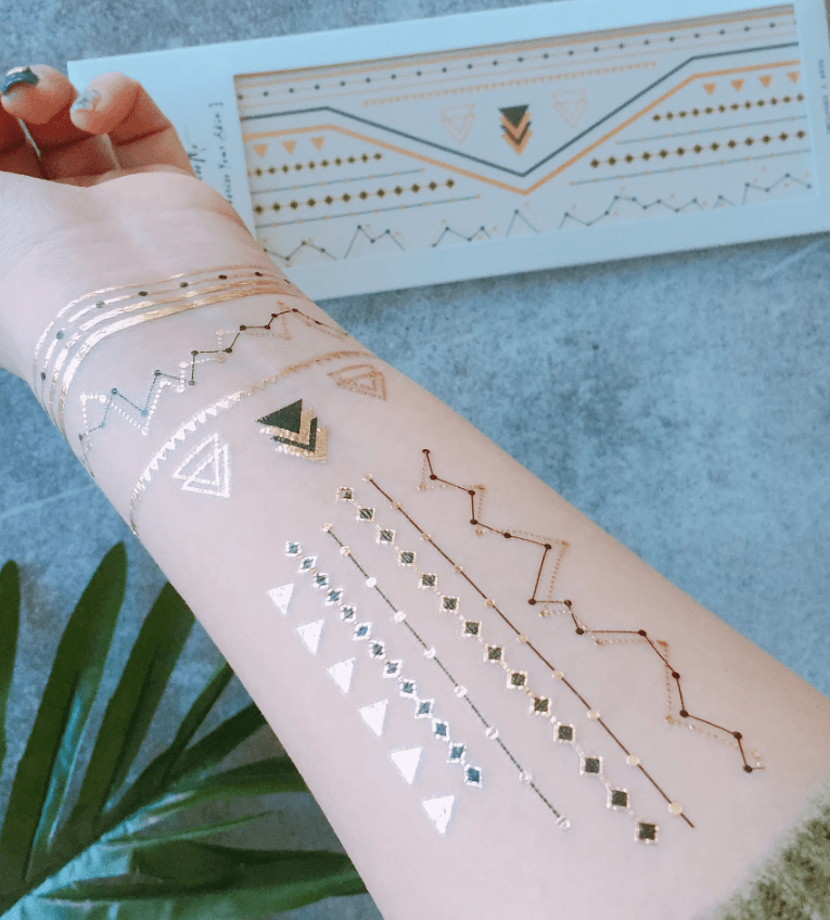 Temporary Tattoos- Golden Age