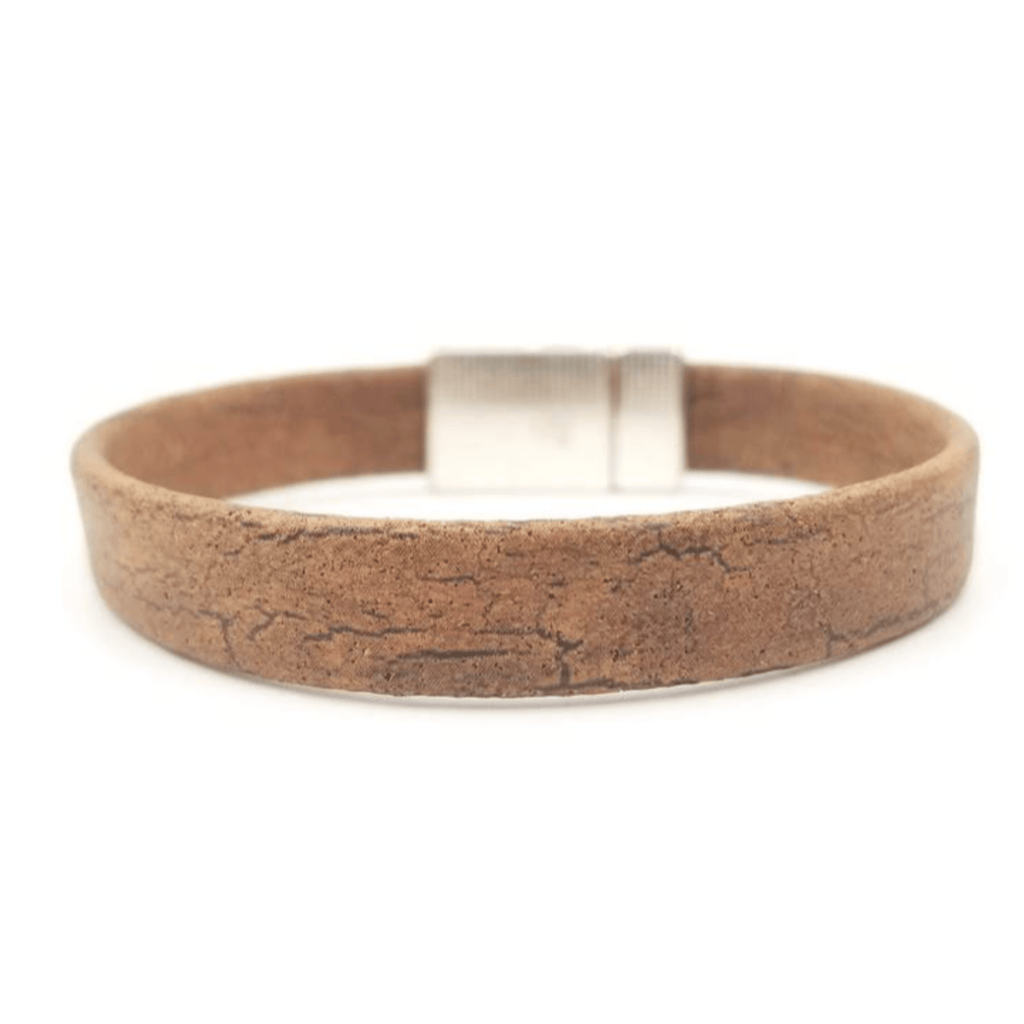 Brown Magnetic Cork Bracelet