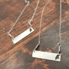 Maine Bar Necklace