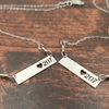 Love 207 Bar Necklace